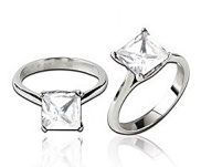 The Promises, Promises Ring can be worn as an engagement ring, as one in a stackable set or all on its own.