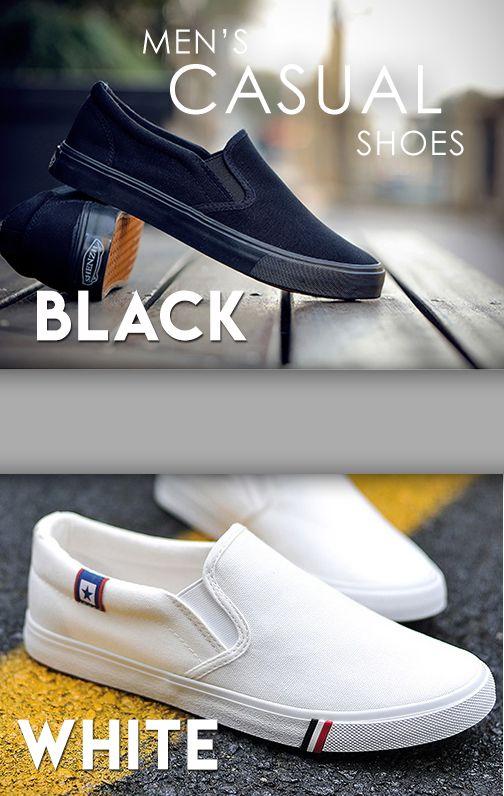 VC Classic <b>Casual</b> Slip On Canvas <b>Shoes</b> | Мужской стиль ...