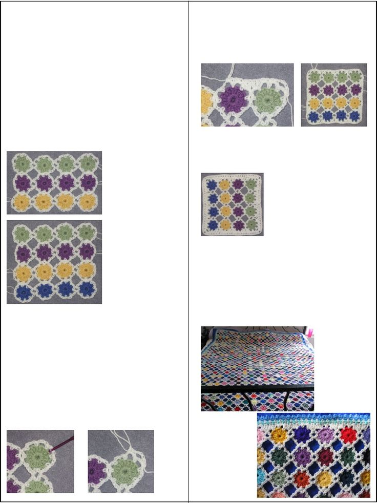 Simple Yoyo Square: Squares Patterns, Crochet Squares, Square Patterns, Yoyo Squares