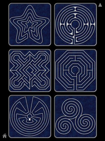 Labyrinth: At its most basic level the labyrinth is a metaphor for the journey to the center of your deepest self and back out into the world with a broadened understanding of who you are.
