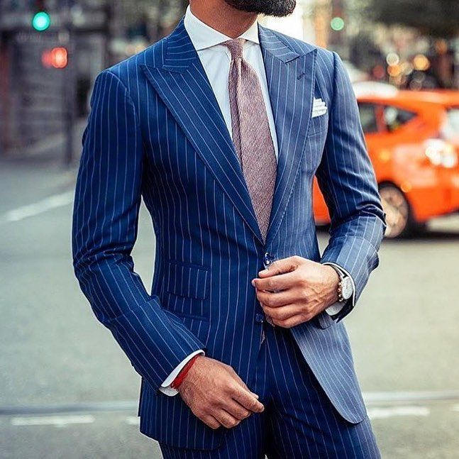 Men Suits 2019 Gorgeous Ideas And Trends Offered By Fashion Brands 2 Men Mens Suit Mens Fashion Suits Navy Blue Pinstripe Suit Mens Fashion Suits Formal