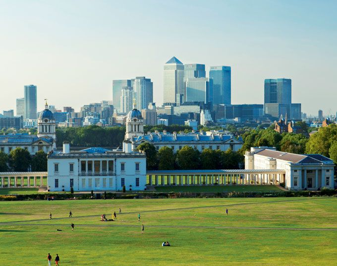 The Royal Borough of Greenwich is the most elegant area of south-east London, straddling the world's hemispheres with glorious architecture and green open space.