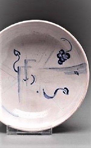 Vally Wieselthier (österreichisch, 1895 - 1945) Titel:     Schale  Medium:     glazed and painted ceramic Größe:     15 x 15 cm (5,9 x 5,9 in)