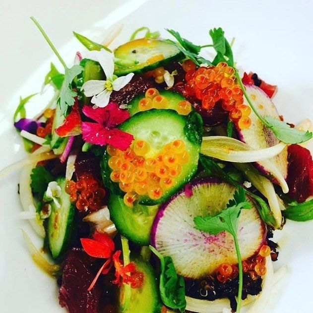A must try from the garden...Ahi Poke.  p/c: @chefcaseyt  #cookingwithcasey #ahituna #salad #ranchosantafe #theranch #theinnatrsf #ranchosantafelocals #sandiegoconnection #sdlocals #rsflocals - posted by The Inn at Rancho Santa Fe  https://www.instagram.com/theinnatrsf. See more post on Rancho Santa Fe at http://ranchosantafelocals.com