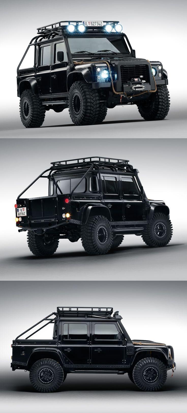 Land Rover Defender from James Bond Spectre  https://www.customautotrim.com/