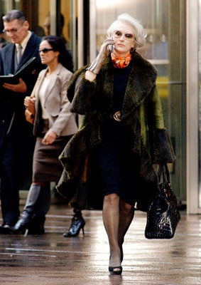 Miranda Priestly (Meryl Streep), The Devil Wears Prada...this is 1 of my fav movies