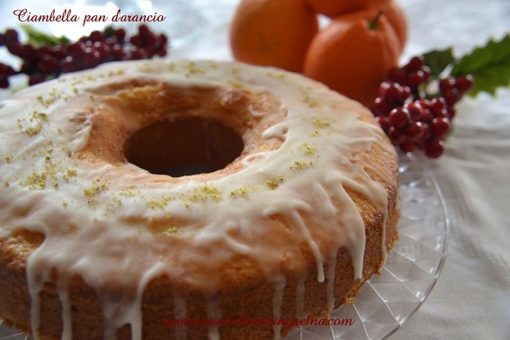 Ciambella Pan d'arancio