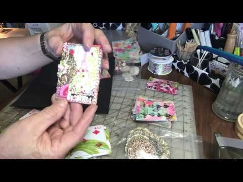 Christmas Junk Journal made from a 9x12 envelope #junkjournals - YouTube
