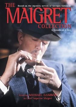 'Maigret' (1992-1993)British TV series adapted from the novels by Belgian author Georges Simenon (1903-1989) featuring his fictional French detective Jules Maigret, written between 1931-1972.There have been numerous incarnations of Maigret on TV around the world.Portrayed by French,British, Irish,Austrian,Dutch,German,Italian,& Japanese actors.Maigret usually conducts his investigations in France, but he's also been called to visit Britain,Netherlands, Germany,Belgium,Switzerland, Finland…