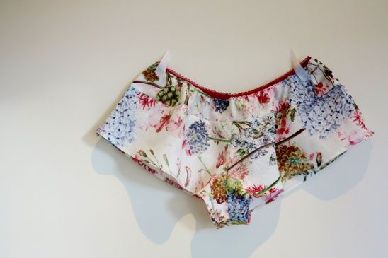 summery knickers by StitchCappuccino using the Jane pattern from Measure Twice Cut Once! #sewing #undies #intimates