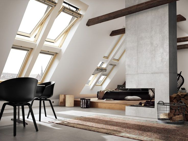 Wooden horizontally pivoted window GGL INTEGRA® SOLAR Velux Integra® Collection by VELUX