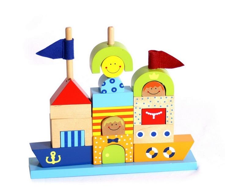 Building Blocks Sand Castle
