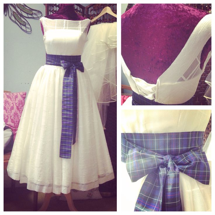 Vintage Wedding Dresses Glasgow: Bespoke 50's Collection Wedding Dress From Dragonfly Dress
