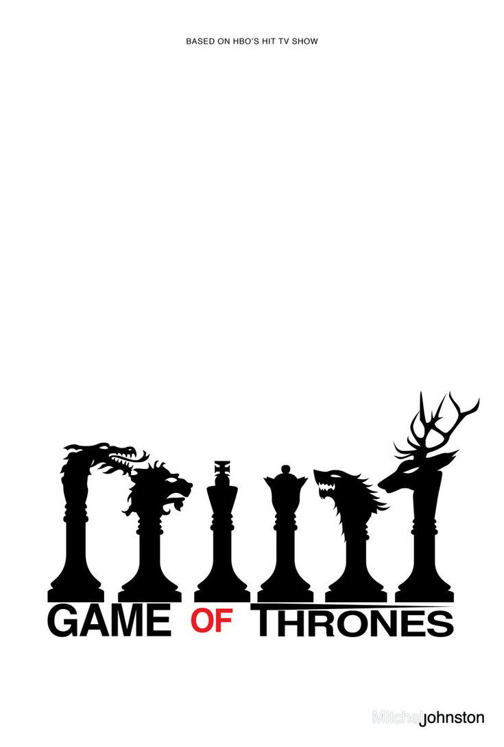 Game of Thrones Minimalist Poster by pmjohnst on deviantART