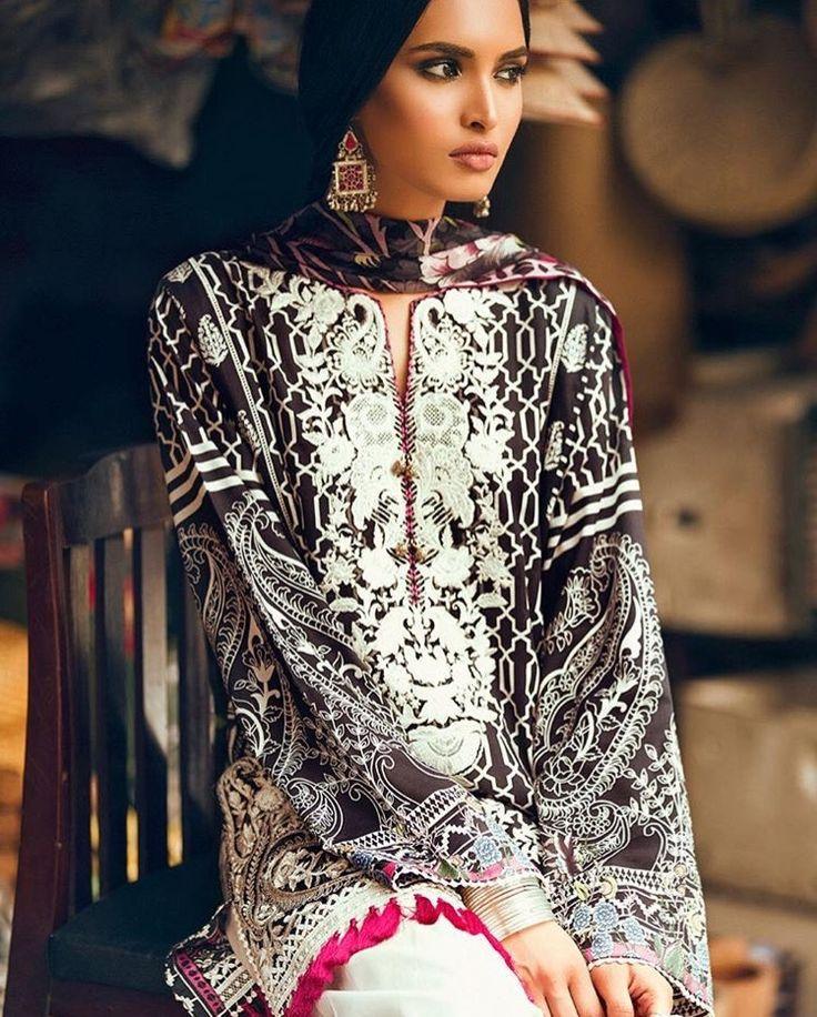 Zara Shahjahan lawn 2017 Pakistani casual wear