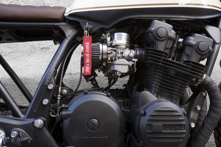 Cafe Racer Dreams Honda CB 750 KZ  Black Cream