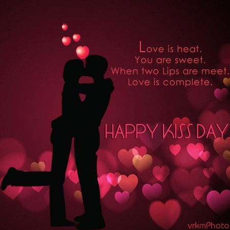 Cute Kiss Day 2017 Picture Quotes-Romantic Image Quotes