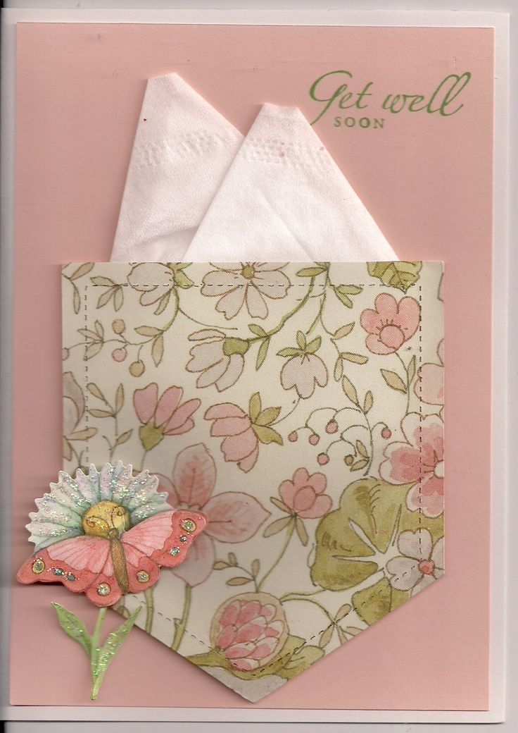 Kleenex Get Well Card                                                                                                                                                                                 More