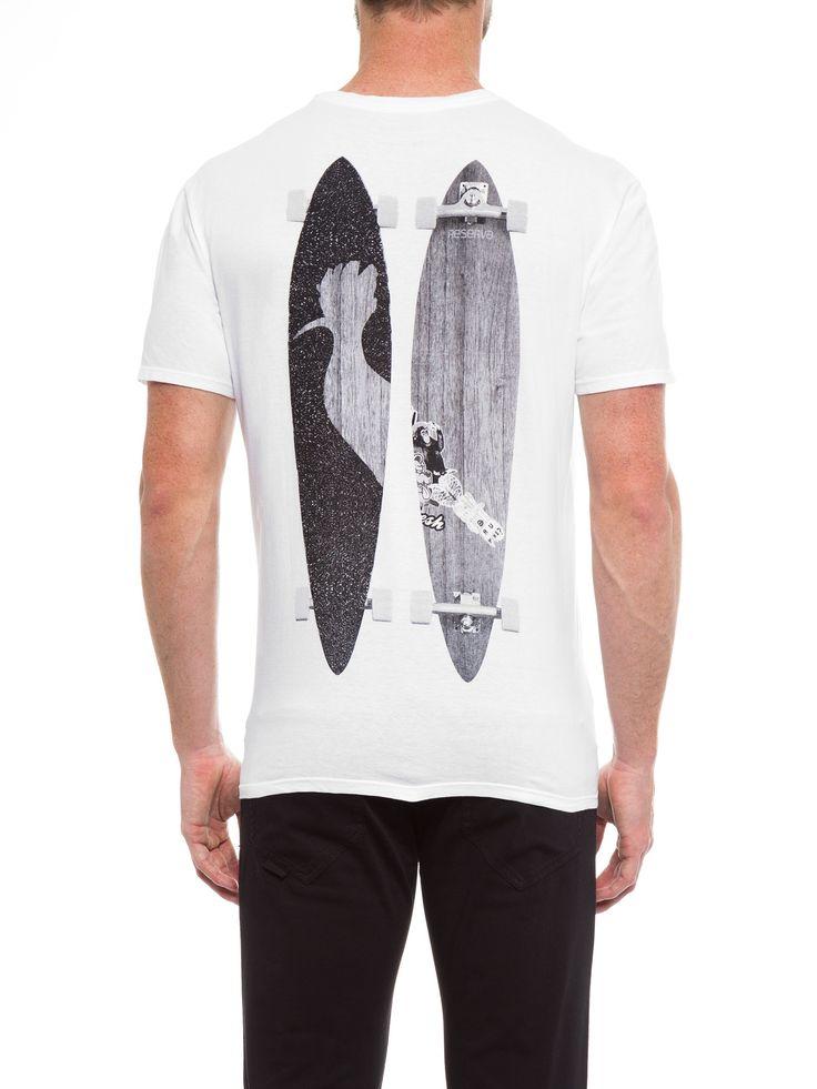 Camiseta Masculina Skate - Reserva - Branco - Shop2gether