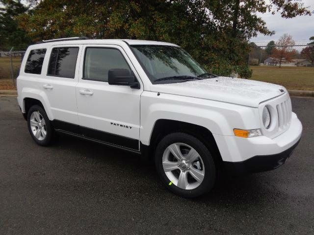 2014 Jeep Patriot Sport White