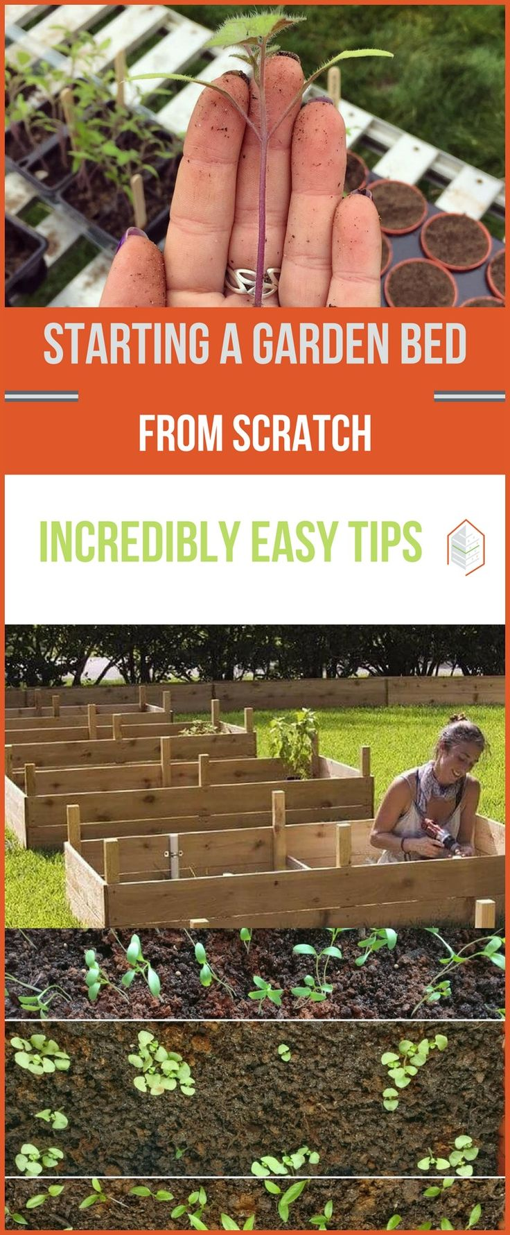 Starting a Garden Bed from Scratch: Tips for Beginners. Starting a garden bed from scratch? Here's how. If you happen to love gardening, but scared off by time constrains or by digging on the ground, don't worry. #urbangardening #urbanfarming #gardening #diy #garden #ugrpost