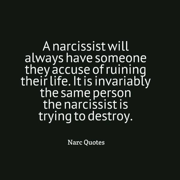 Narcissists are always playing the victim! boohoo! Everyone does them wrong (not). In reality those who went out of their way to help them are accused of destroying their lives.
