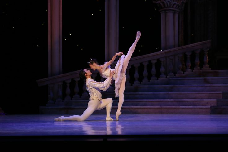 International ballet stars Alina Cojocaru and Chi Cao in Queensland Ballet's The Sleeping Beauty