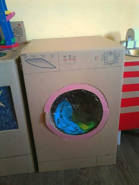 Karton mosógép! :)