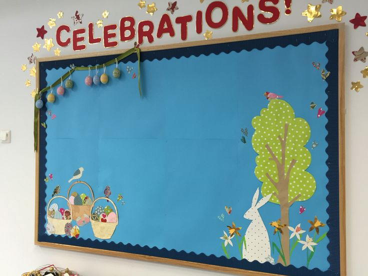 The 'Celebrations' Board gets an Easter makeover...
