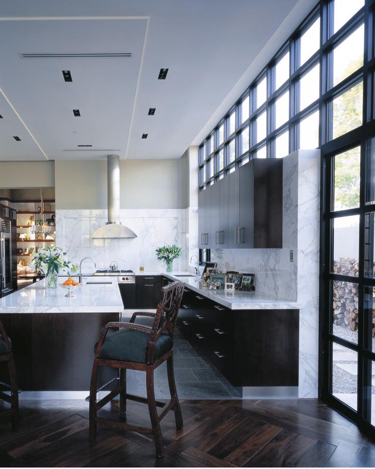 Counter tops and floors