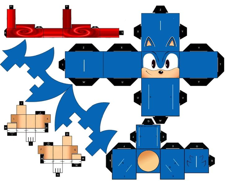 Classic Running Sonic the Hedgehog by mikeyplater.deviantart.com on @deviantART