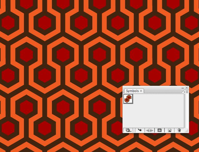 Creating geometric patterns in Illustrator - Create pattern background from a pattern symbol