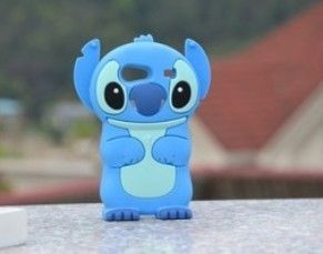 New Cute Cartoon Stitch Soft Silicone Back Case Cover for Samsung Galaxy S Advance i9070 US $6.99