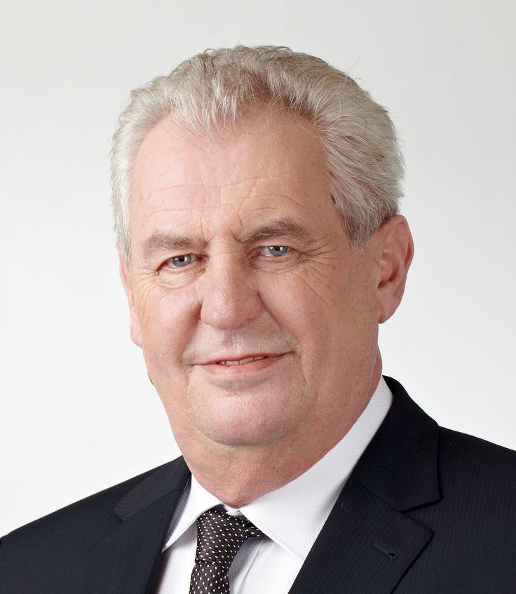 Miloš Zeman, český prezident zvolený 8.3.2013 přímou volbou