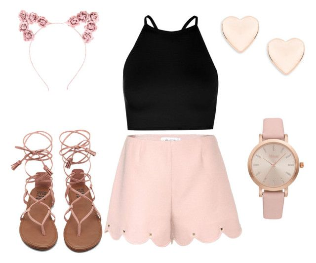 """""""Untitled #15"""" by sarii-syafitri on Polyvore featuring Boohoo, Valentino, Vivani, Hot Topic and Ted Baker"""