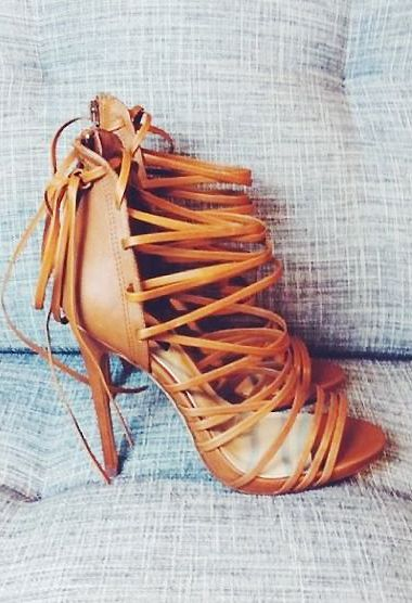 #heels #leather #strappy
