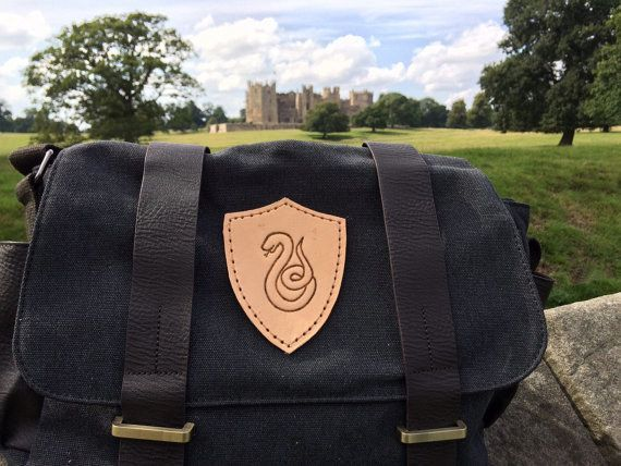 This messenger bag that will get them from Potions to Defense Against the Dark Arts in style. | 35 Perfectly Cunning Gifts For Slytherins