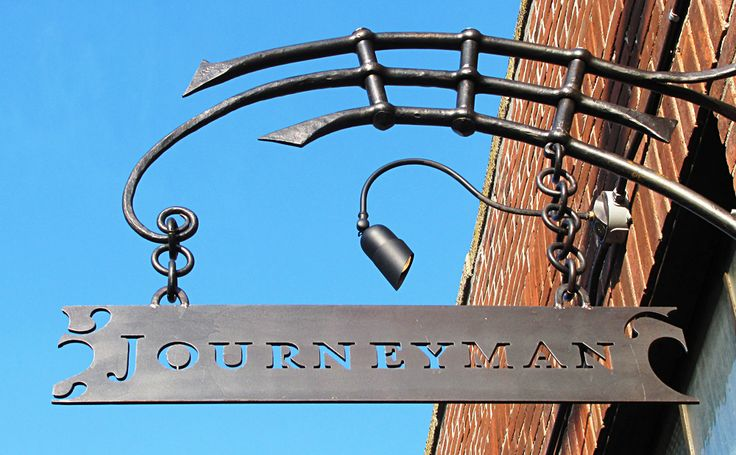 Journeyman Sign  - Great inspiration!