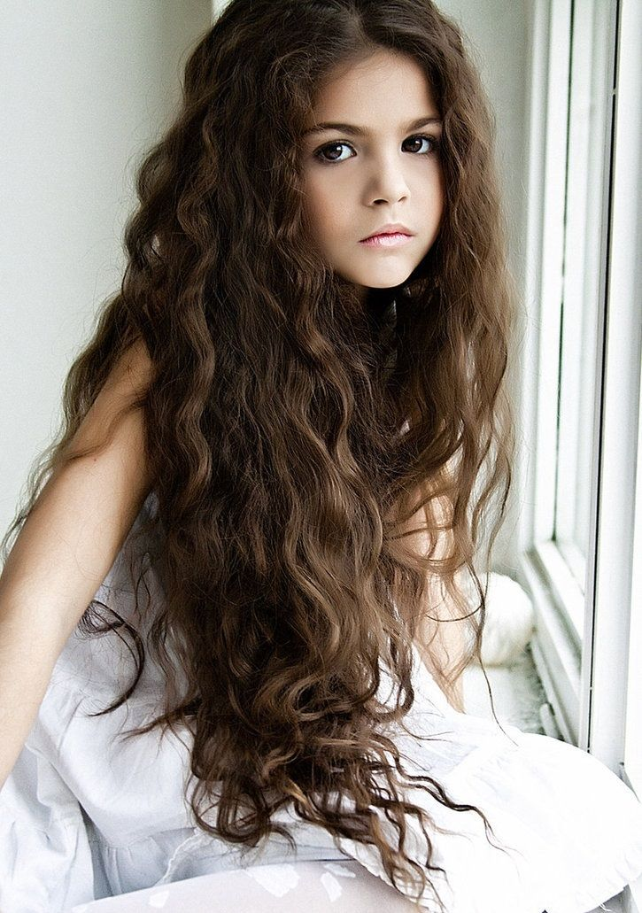 Very Long Curly Brown Hairstyle Homecoming Hairstyles