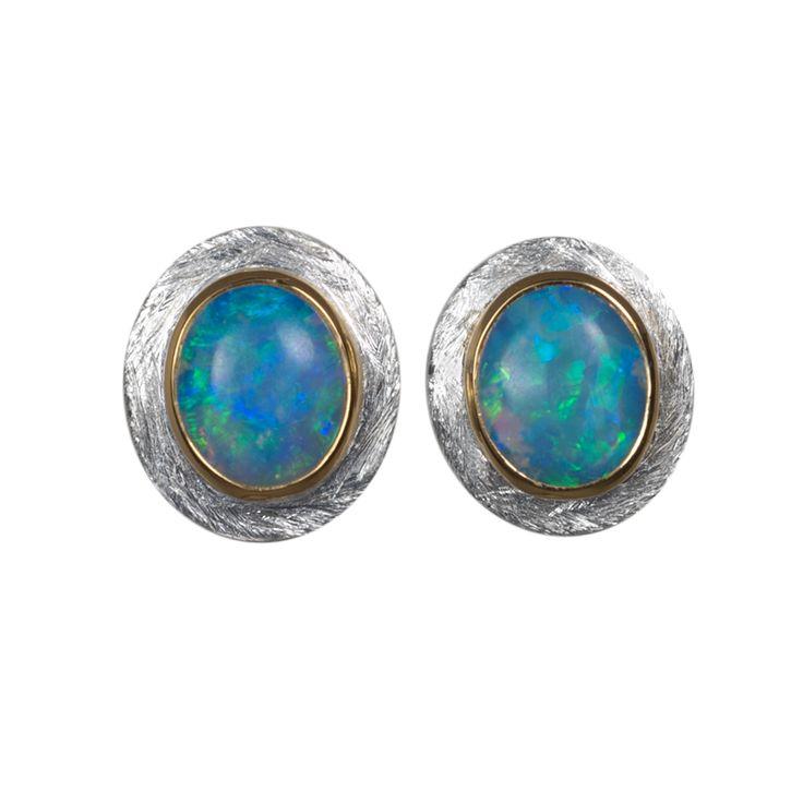 Opal Ohrstecker   #Opal #Ohrstecker #Schmuck #shopping #Geschenk