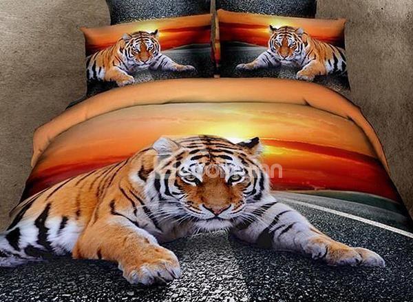Top Class Lying Tiger Print 4-Piece 3D Duvet Cover Sets:http://www.beddinginn.com/product/Top-Class-Lying-Tiger-Print-4-Piece-3d-Duvet-Cover-Sets-10963136. check there:html,http://www.beddinginn.com/Custom-3d-Bedding-101840/