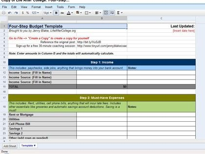 14 best Productivity images on Pinterest Productivity, Draping and - Google Docs Budget Spreadsheet