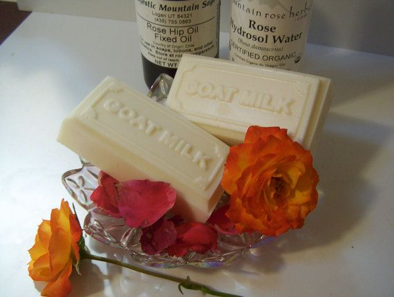 Mature Skin Goatsmilk with Shea Butter Soap  by CountryComfortsHG, $4.25