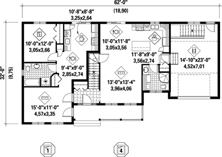 Ranch House Floor Plans With In Law Quarters Home Design Ideas