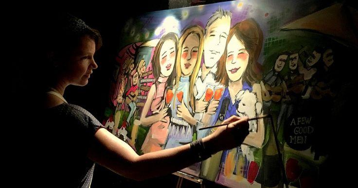 Op zoek naar een origineel cadeau voor een bruiloft, een kunstbeleving voor de gasten en ook nog een uniek schilderij als eindresultaat: live painting door kunstenares Peggy van Gurp Ter plekke legt ze het feest vast op doek. Kijk voor info en voorbeelden op peggyvangurp.nl