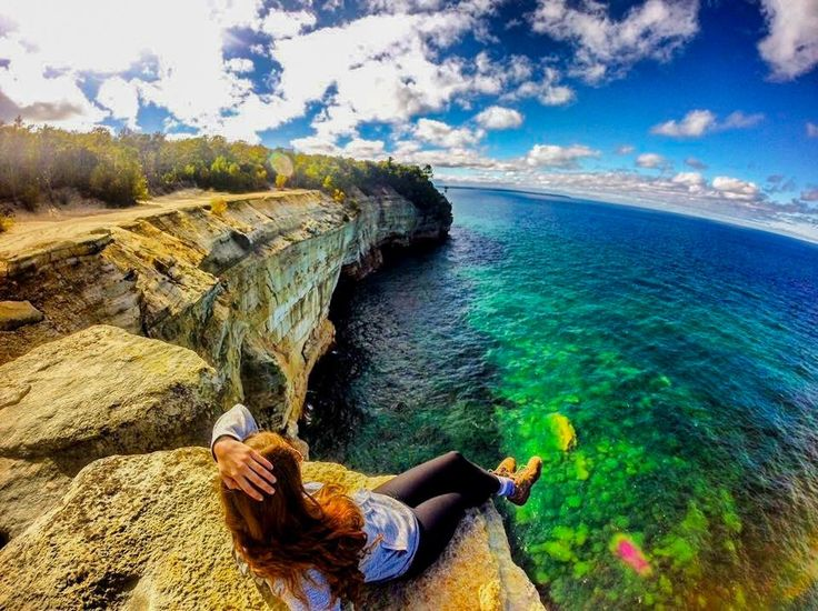 Grand Portal Point in Pictured Rocks National Lakeshore, just one of 10 remarkable photos from Michigan photographer Kim Charters: http://www.midwestliving.com/travel/michigan/10-unforgettable-michigan-views/