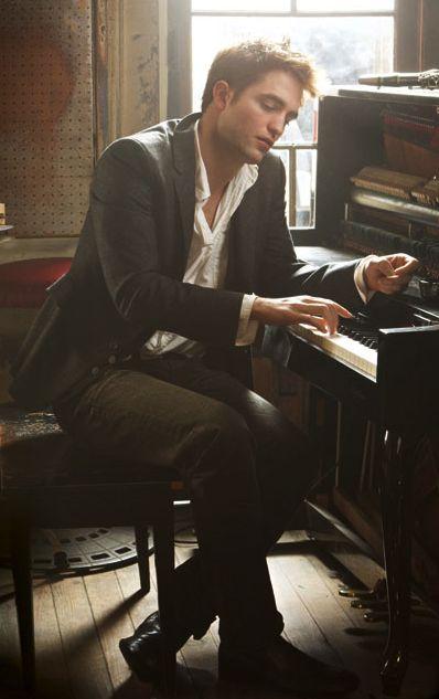 Rob... love a man at the piano