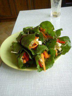 surowe pockety pełne warzyw