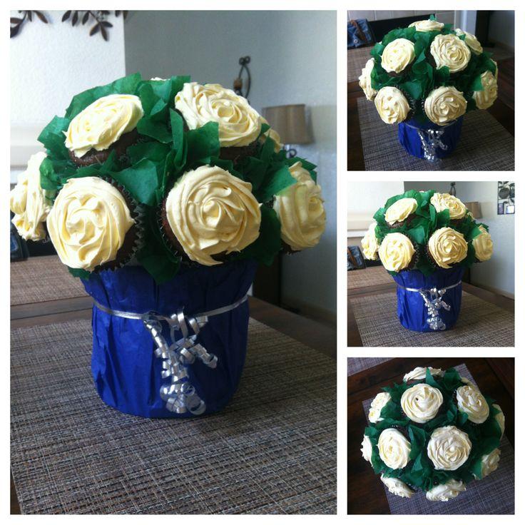 Cupcake bouquet i made