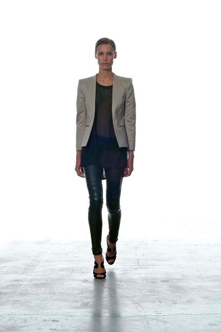 ..: 2013 Spring Summer, Fashion, Dnm S2013, Spring2013 Nyfw, S2013 Ready To Wear, Black Leather Leggings, Dnm Spring2013, Spring Summer Rtw, Ready To Wear Blk